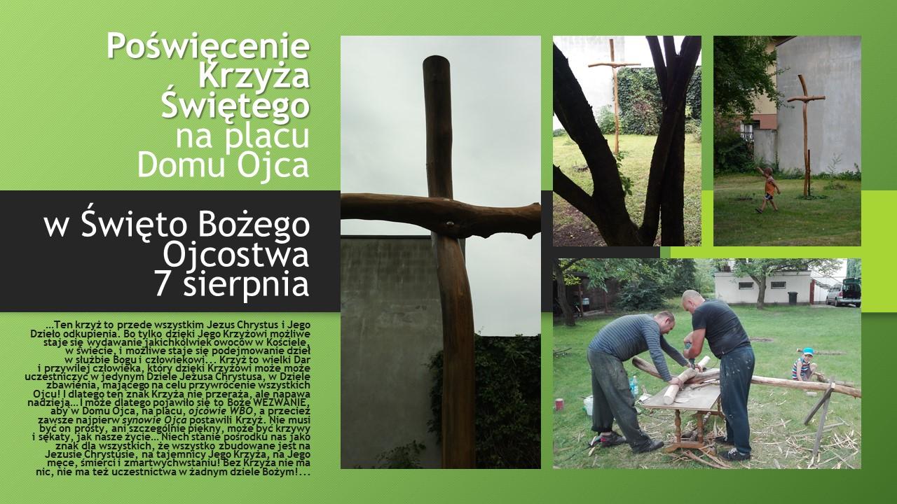Poświęcenie Krzyża Świętego